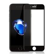 Colorfone Iphone 8 Plus and 7 Plus Screenprotector Black  - Glas 2.5D
