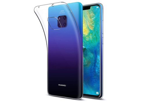 CoolSkin3T Mate 20 Pro Transparant Wit