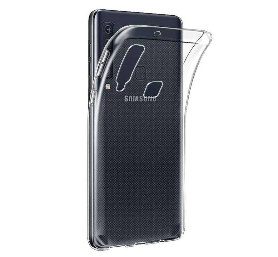 Samsung A9 2018 Siliconen Hoesje Transparant - CoolSkin3T