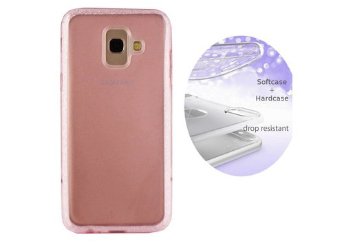 BackCover Layer Samsung J6 Plus Roze