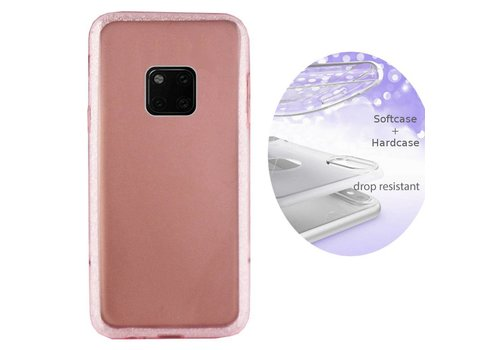 BackCover Layer Huawei Mate 20 Pro Roze