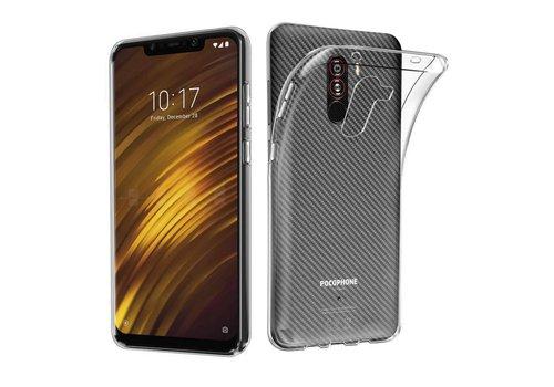 Xiaomi Pocophone F1 Hoesje Transparant CoolSkin3T