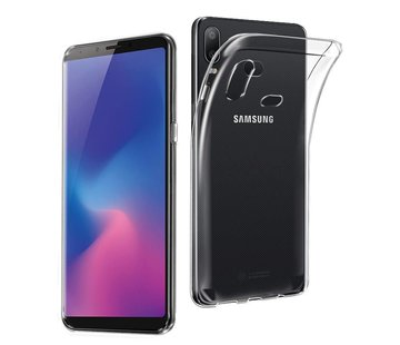 Colorfone Samsung A6s  Hoesje Transparant CoolSkin3T