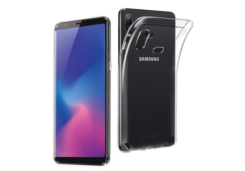 Samsung A6s  Hoesje Transparant CoolSkin3T
