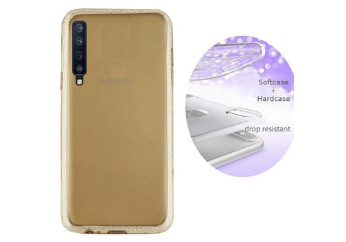 BackCover Layer Samsung A7 2018 Goud