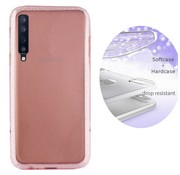 Colorfone BackCover Layer Samsung A7 2018 Roze