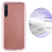 BackCover Layer TPU + PC voor Samsung A7 2018 Roze