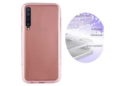 BackCover Layer Samsung A7 2018 Roze