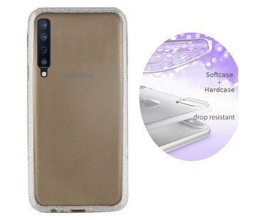 Colorfone BackCover Layer Samsung A7 2018 Zilver