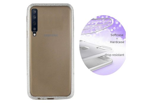 BackCover Layer Samsung A7 2018 Zilver