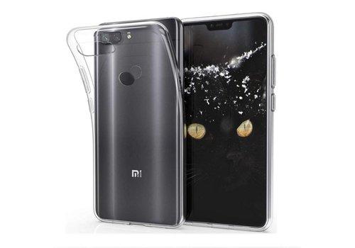 CoolSkin3T Xiaomi MI 8 Lite Transparant Wit