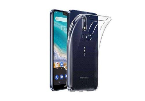 Nokia 7.1 Hoesje Transparant CoolSkin3T