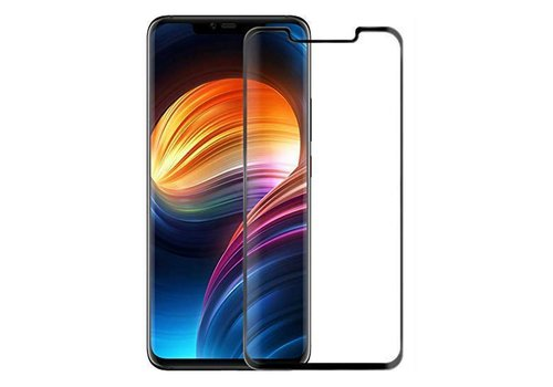 Glass Curved Mate 20 Pro Transparant Zwart (Full Glue)