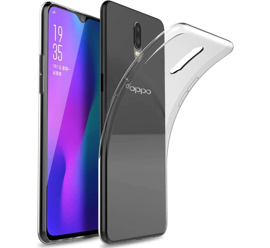 Oppo RX17 Pro Siliconen Hoesje Transparant - CoolSkin3T