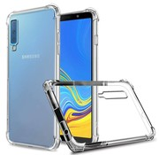 Colorfone Samsung A7 2018 Hoesje Transparant Anti-Shock