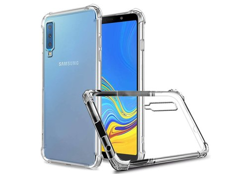Backcover Shockproof Samsung A7 2018 Transparent