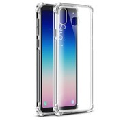 Colorfone Samsung A9 2018 Hoesje Transparant Anti-Shock
