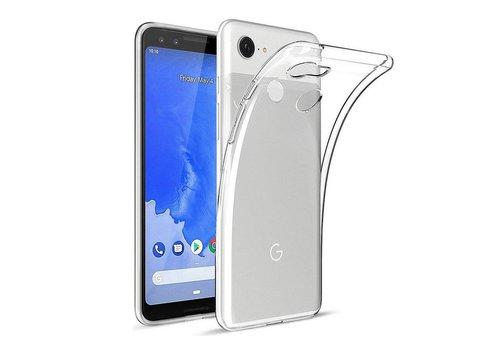 Google Pixel 3A Hoesje Transparant CoolSkin3T