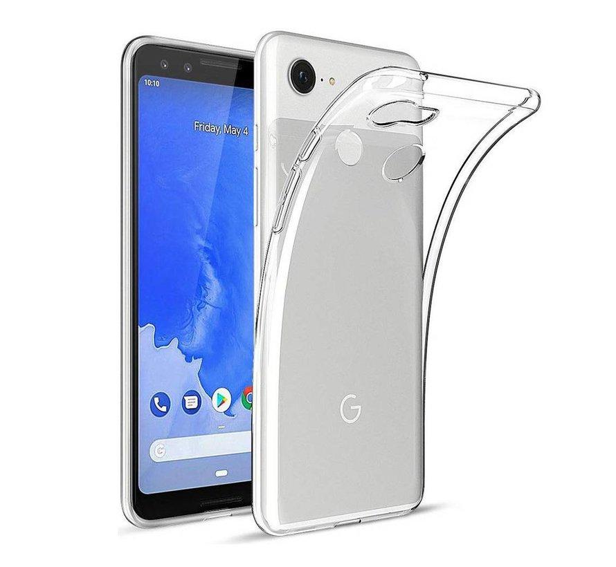 Google Pixel 3A Siliconen Hoesje Transparant - CoolSkin3T