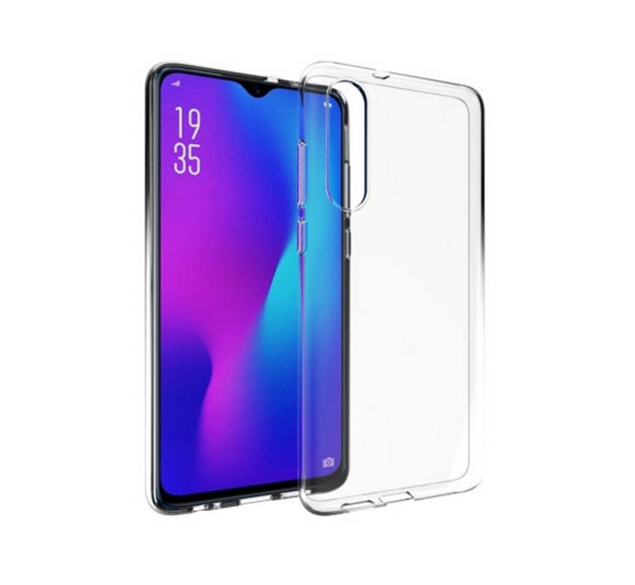Huawei P30 Siliconen Hoesje Transparant - CoolSkin3T