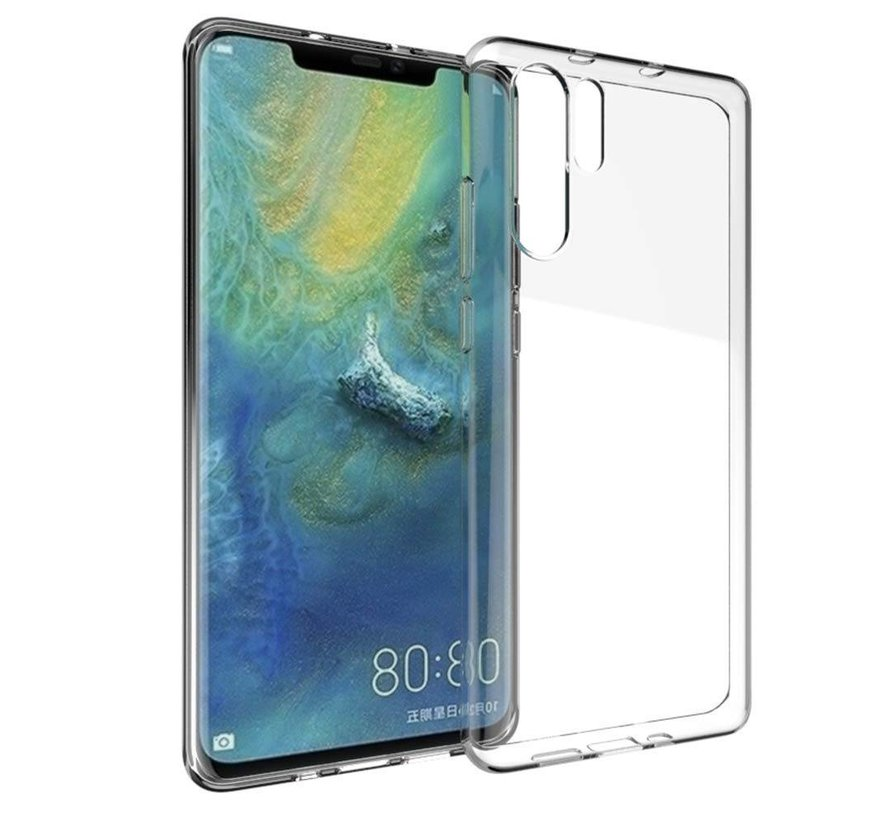 Huawei P30 Pro Siliconen Hoesje Transparant - CoolSkin3T