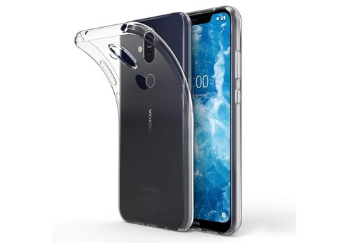 CoolSkin3T Nokia 8.1 Transparent White