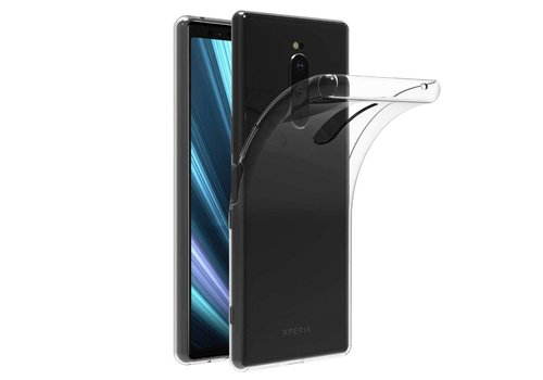 CoolSkin3T Sony Xperia XZ4 Transparant Wit