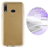 BackCover Layer TPU + PC voor Samsung A6s Goud