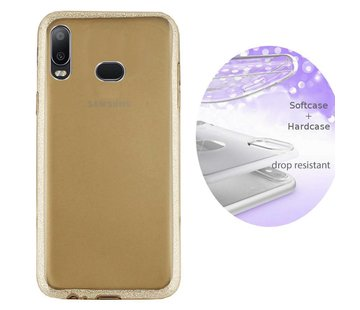 Colorfone BackCover Layer Samsung A6s Goud