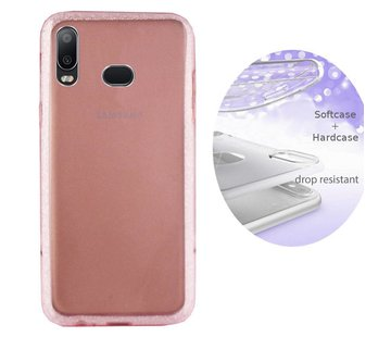 Colorfone BackCover Layer Samsung A6s Roze