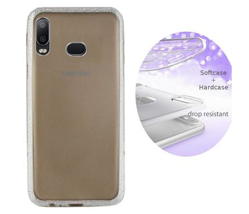 Colorfone BackCover Layer Samsung A6s Zilver