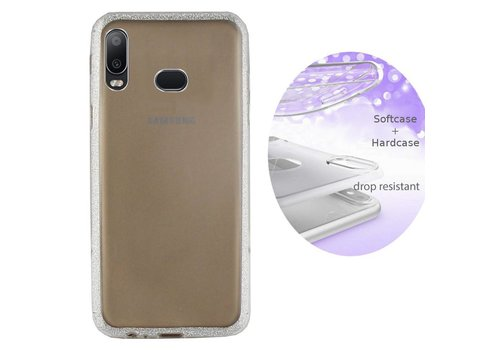 BackCover Layer Samsung A6s Silver