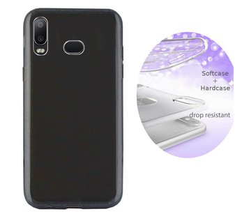 Colorfone BackCover Layer Samsung A6s Zwart