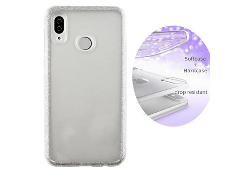 BackCover Layer Huawei Y9 2019 Zilver