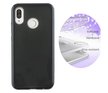 Colorfone BackCover Layer Huawei Y9 2019 Zwart