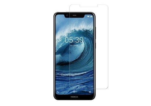 Nokia 5.1 Plus Screenprotector Glas 9H