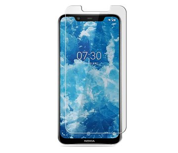Colorfone Nokia 8.1 Screenprotector Glas 9H