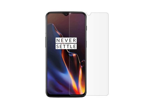 One Plus 6T Screenprotector Glas 9H