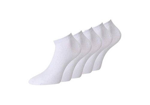 Ankle Socks 9 Pair Unisex size 35-38 White