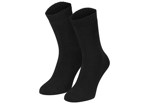 Thermosocks 2 Pair Men size 39-42 Black