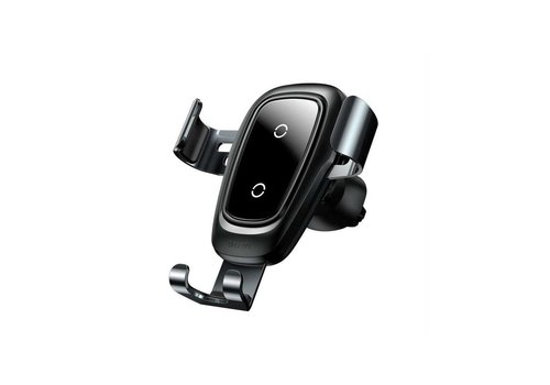 Wireless Charger Gravity Car Mount Zwart