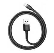 Baseus USB Lightning Kabel 1M Zwart+Grijs