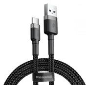 Baseus USB Type-C Kabel 1M Zwart+Grijs
