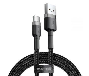 Baseus USB Type-C Kabel 2M Zwart+Grijs