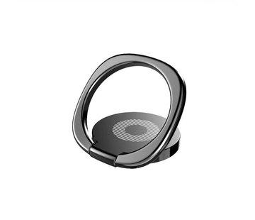 Baseus Popsocket telefoon - ringhouder telefoon magneet - zwart