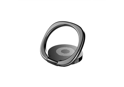 Popsocket telefoon - ringhouder telefoon magneet - zwart