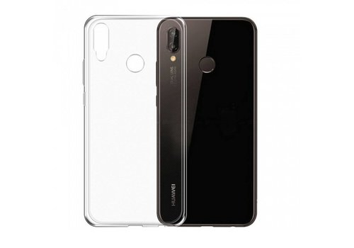 CoolSkin3T Huawei Y9 2019 Transparant Wit