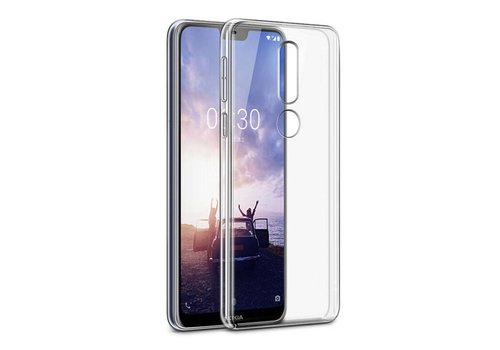 CoolSkin3T Nokia 8.1 Plus Transparant Wit