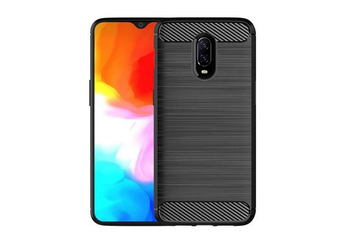 One Plus 6T Hoesje Zwart  Armor Case