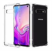 Colorfone Backcover Shockproof Samsung S10 Plus Transparant